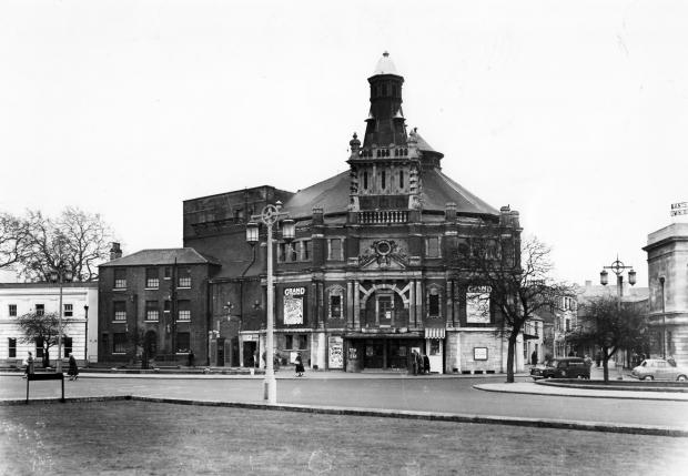 The Grand Theatre in West Marlands Southampton, Opposite the Civic Centre before WW2 Blitz