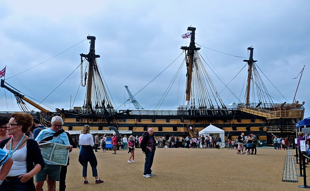 HMS Victory is one of the most visited museum ships moored at Portsmouth Historical Dockyard www.historicdockyard.co.uk