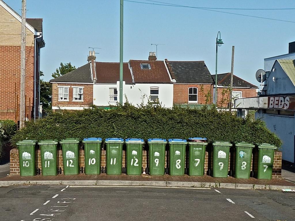 Ancasta's bins © Southampton Old Lady
